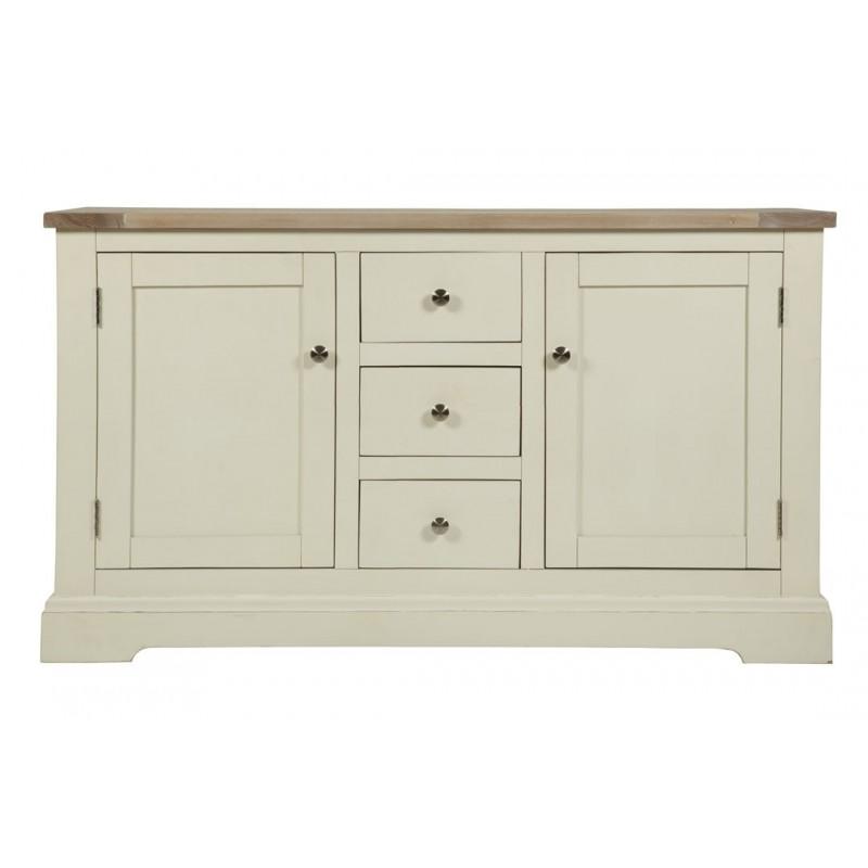 Comprar aparador bajo dorset blanco de dise o laura ashley decoracion - Aparador bajo ...