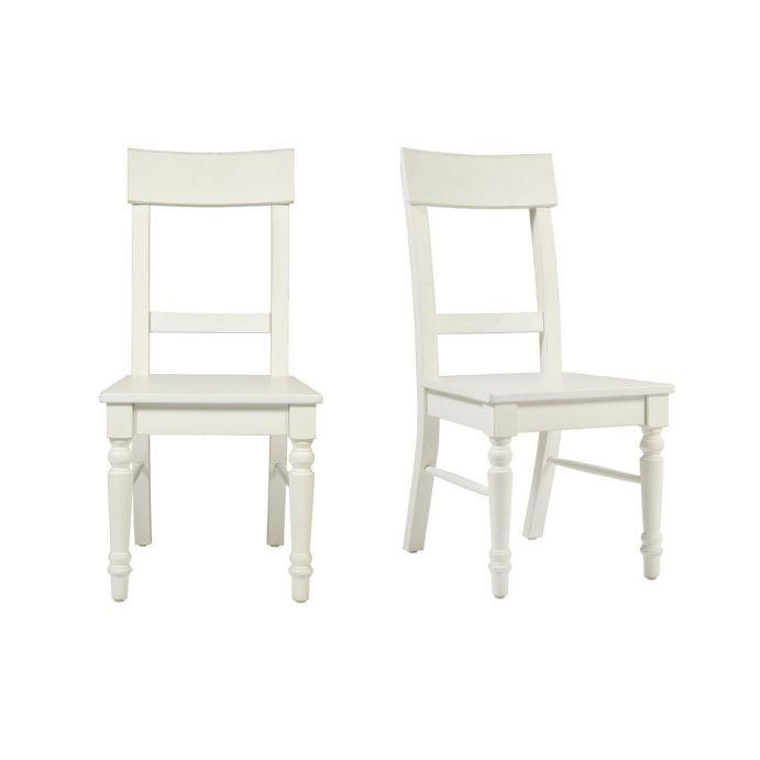 2 sillas Dorset blanco