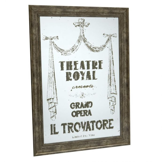 espejo enmarcado Theatre Royal