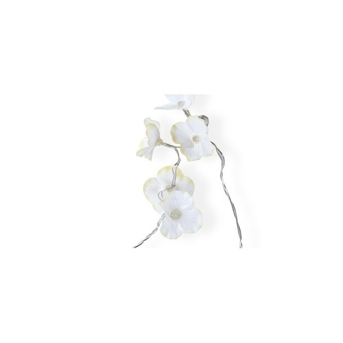 guirnalda de luces white hydrangea