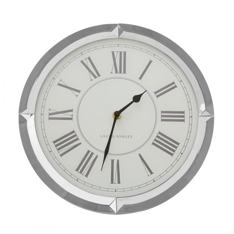 Comprar reloj de pared redondo de marco espejado de diseño - Laura ...