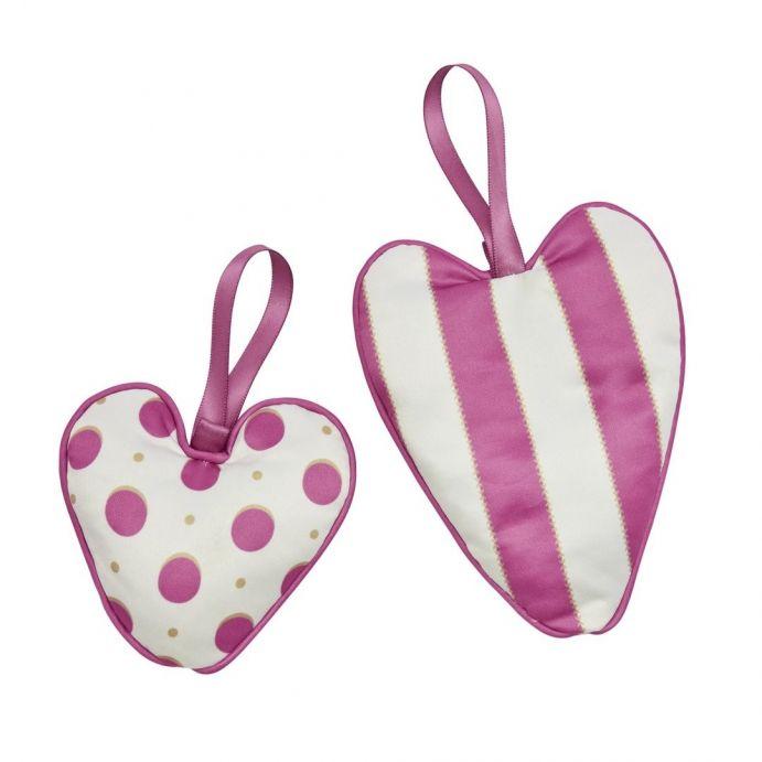 juego de 2 corazones perfumados darcey spot