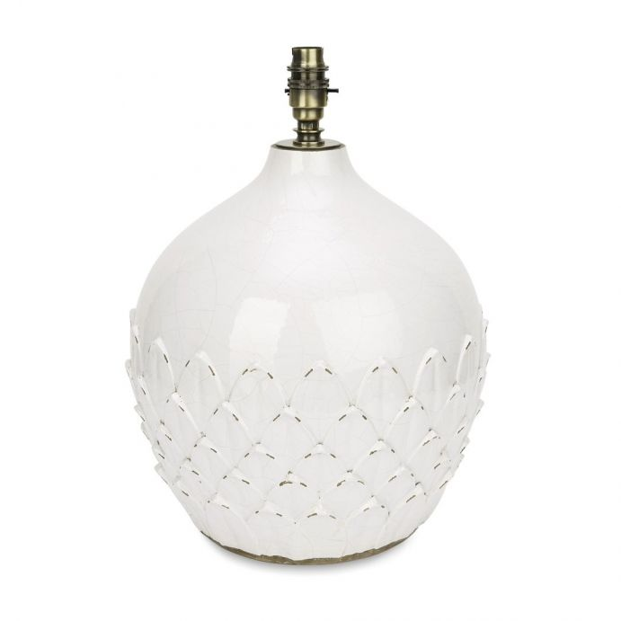 base de lámpara artichoke
