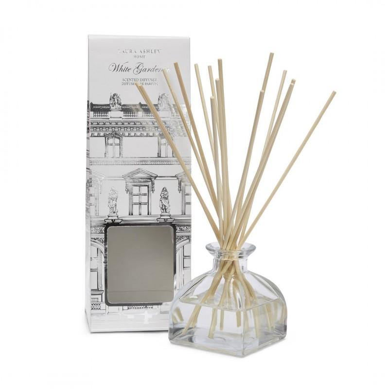 comprar varitas difusoras gardenia blanca de dise o laura ashley decoracion. Black Bedroom Furniture Sets. Home Design Ideas