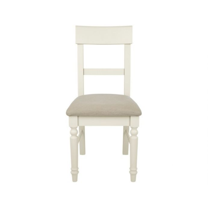 2 sillas tapizadas Dorset blanco