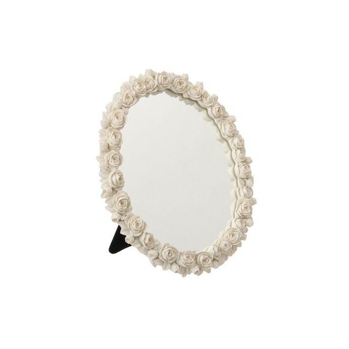 espejo de tocador scultured rose