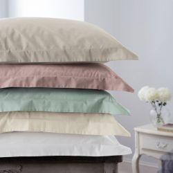 pareja de almohadones cuadrados crema