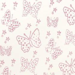 rodillo para pintar con patrones de diseño de mariposas