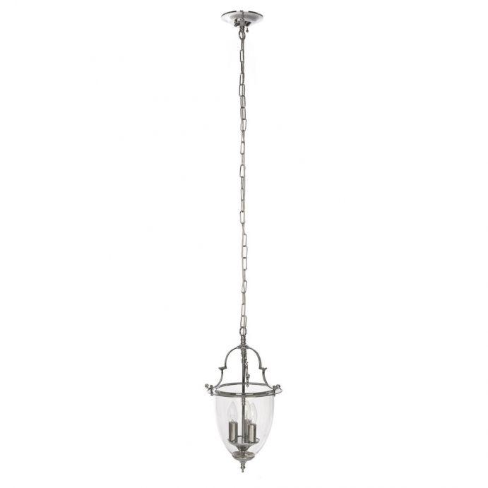 lámpara de techo amble 3 brazos cromo