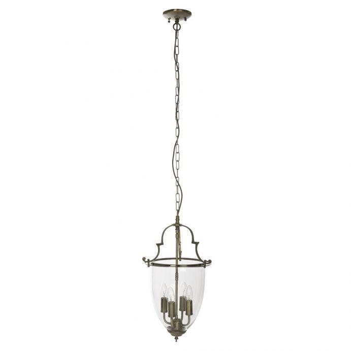 lámpara de techo amble 3 brazos bronce
