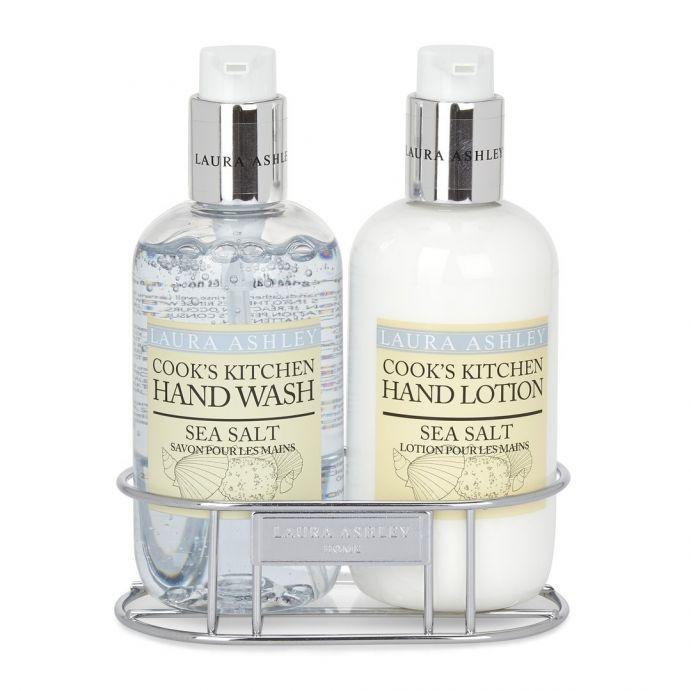 jabón y loción de manos sal marina