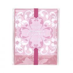 Mora y rosa adamascada - saquitos perfumadas