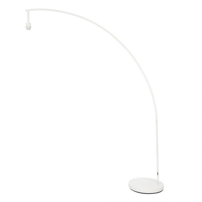 lámpara de suelo Bergen arco blanco