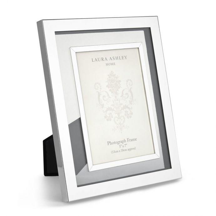 Comprar marco plata y cristal evie de dise o laura ashley decoracion - Marcos de cristal ...