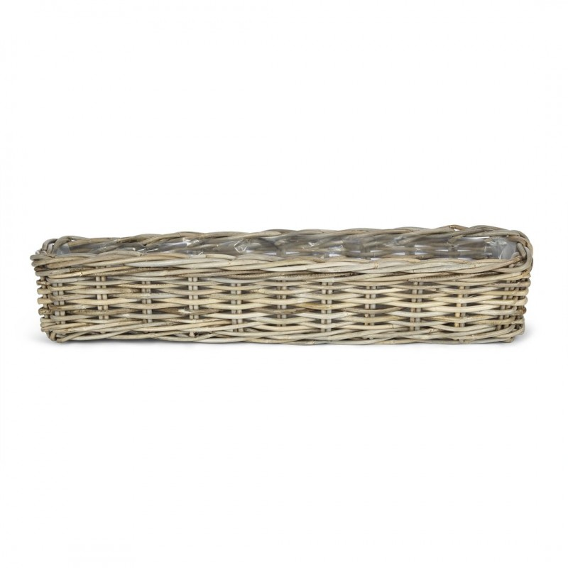 Comprar macetero natural kubu alargado de diseño - Laura Ashley ...