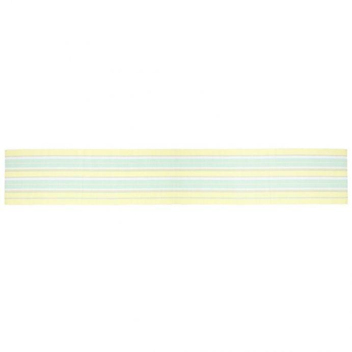 camino de mesa summer stripe