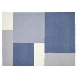 alfombra charlie azul 120x90