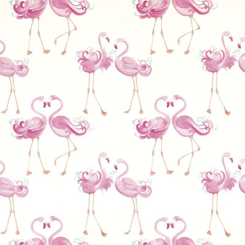 Comprar papel pintado pretty flamingo rosa de dise o laura ashley decoracion - Papel pintado rosa ...