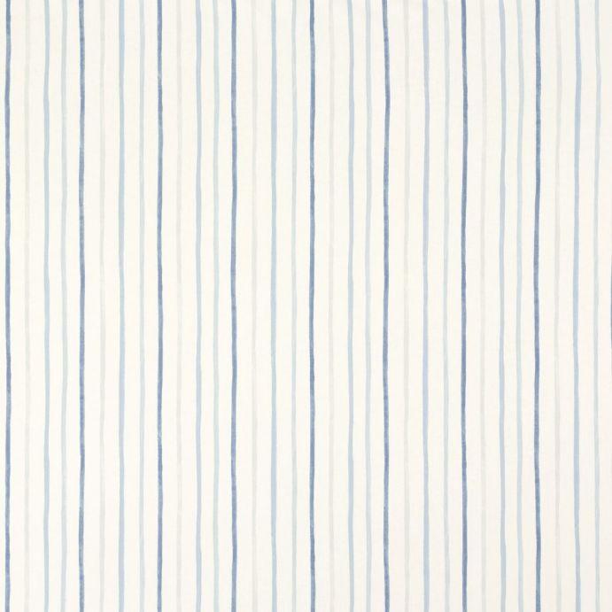 tejido azul painterly stripe