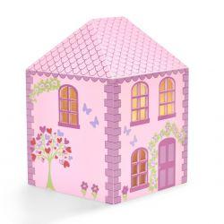 lámpara de sobremesa casita de muñecas