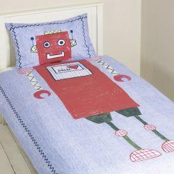 nórdico y almohadón robots individual