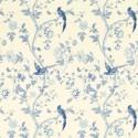 papel pintado summer palace azul royal