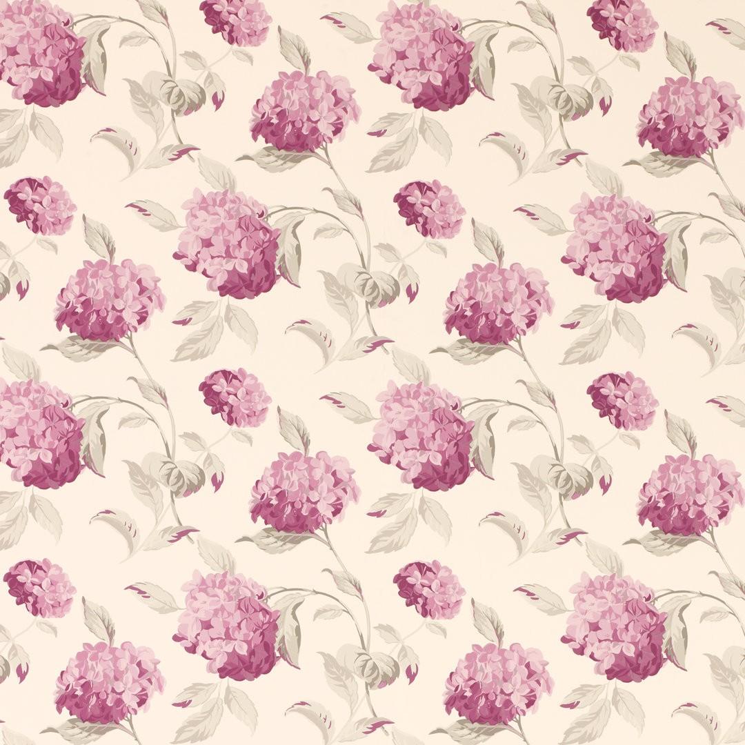 Comprar papel pintado hydrangea baya de diseño - Laura Ashley Decoracion