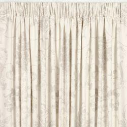 cortinas confeccionadas Josette lino oscuro