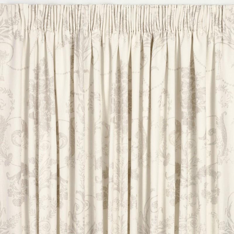 cortinas confeccionadas josette lino oscuro - Cortinas Lino
