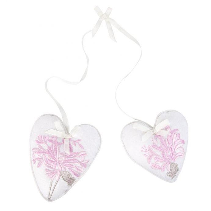 2 corazones perfumados Honeysuckle