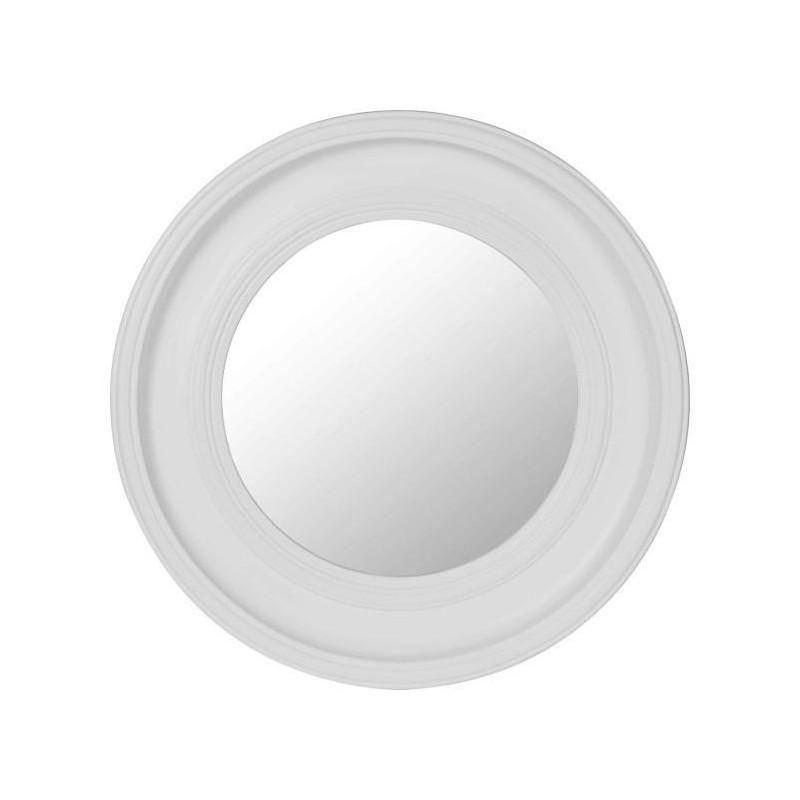 Comprar espejo de pared alena redondo gris claro de dise o for Espejo redondo pared