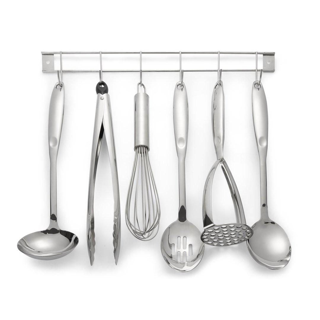 Comprar utensilios de cocina con soporte en acero inox de diseño ...