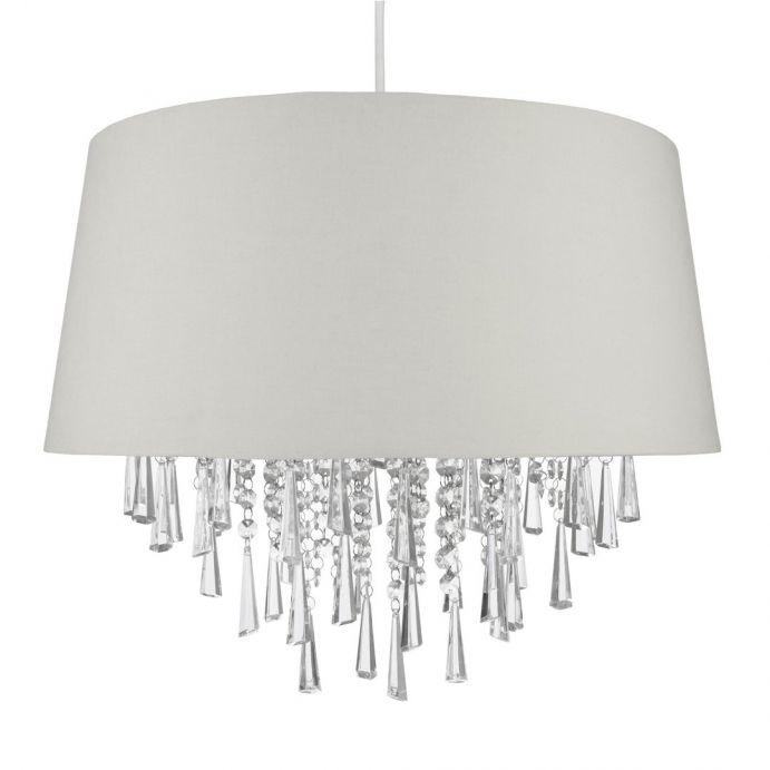 lámpara colgante juliet plata
