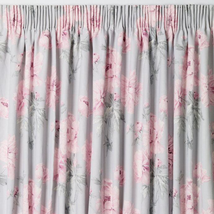 cortinas confeccionadas Beatrice ciclamen