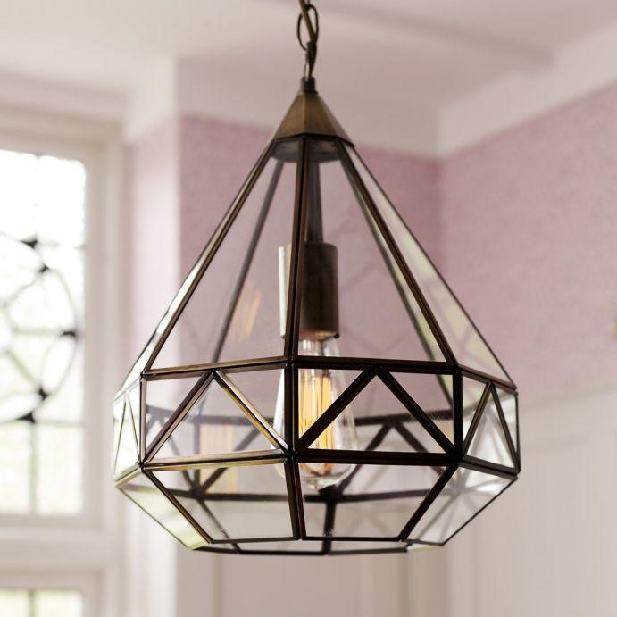 lámpara Zaria bronce