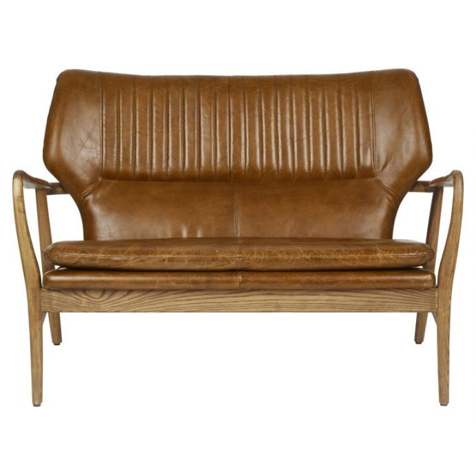 Comprar sofá de cuero Whitworth de diseño - Laura Ashley Decoracion