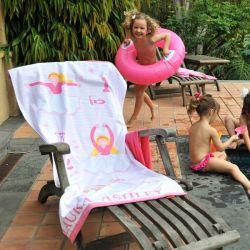 toalla de playa ballerina