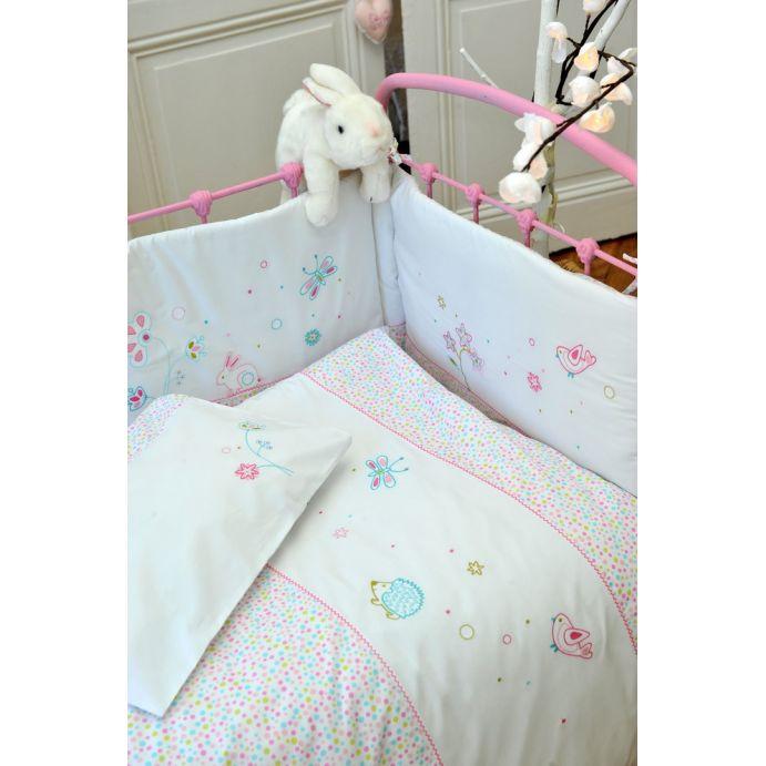 Funda nórdica y almohada Little Rabbit cama 90 cm