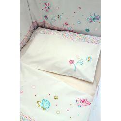 Juego de sábanas Little Rabbit para cama 90