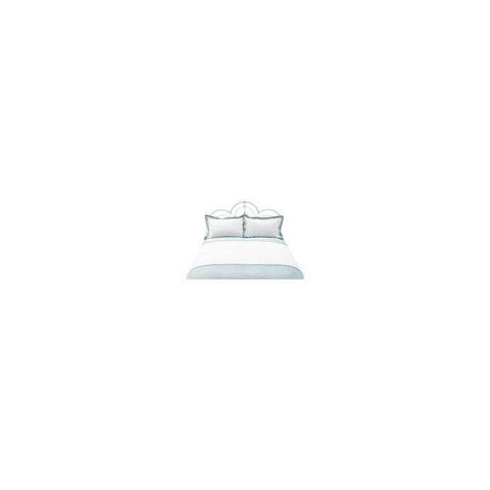 ropa de cama imogen azul verdoso blanco