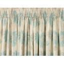 cortinas confeccionadas kimono azul verdoso