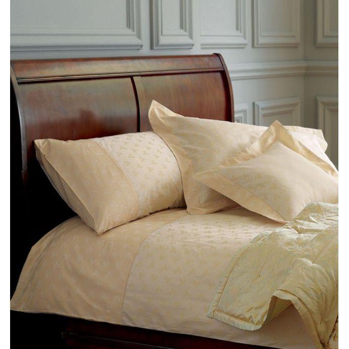 ropa de cama elenor jacquard dorado