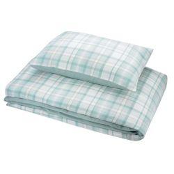 ropa de cama hendon azul verdoso