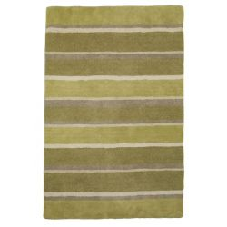 alfombra bexley stripe verde oliva