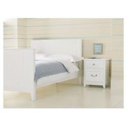 cama devon blanco