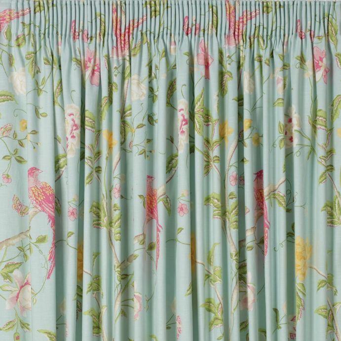 cortinas summer palace azul verdoso
