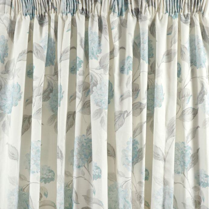 cortinas hydrangea azul verdoso
