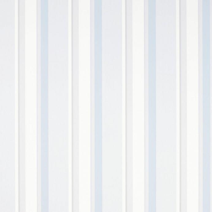 papel pintado eaton stripe gris claro azul mar