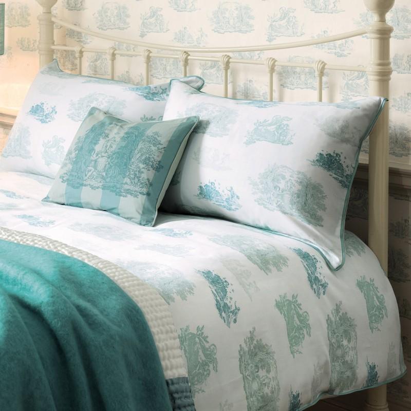 d11e6fda7f7 Comprar ropa de cama toile verde topacio de diseño - Laura Ashley ...