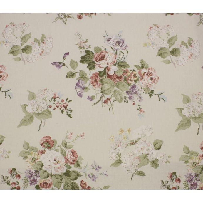 tejido floral bouquet lino